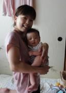 骨盤矯正で太ももがついた調布のママさん
