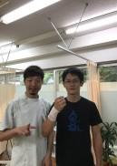 右手首の痛みで通院しました。